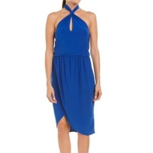 Laundry Blue Halter Dress Sz 6 Price firm🔥sale